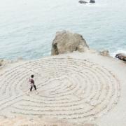 Steinlabyrinth